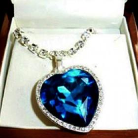 """Ожерелье  """"Сердце океана"""""""